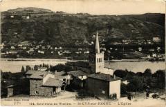 Env. de Vienne - St-Cyr-sur-Rhone - L'Eglise 38 Vienne