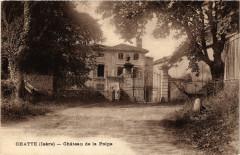 Chatte - Chateau de la Poipe - Chatte