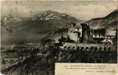 Bouqueron-les-Bains pres Grenoble et le Moucheroste dans le fond 38 Grenoble