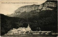 Chalais pres Voreppe - et les Montagnes des Banettes - Voreppe