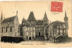 Murinais - Cour du Chateau - Murinais