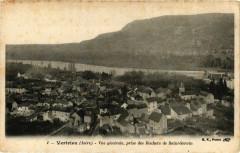 Vertrieu - Vue générale prise des Rochers de St-Servin - Vertrieu