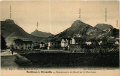 Banlieue de Grenoble - Escarpentements du Massif de la Chartreuse 38 Grenoble