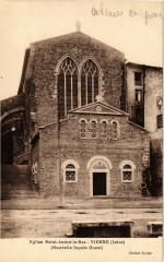 Eglise St-Andre-le-Bas - Vienne - Nouvelle facade Ouest 38 Vienne