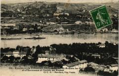 Env. de Viennes-Panorama de Saint-Romain-en-Gal et d'Estressin 38 Vienne