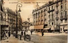 Place Grenette et Saint-Louis - Grenoble
