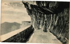 Dauphiné Route des Ecouges a Saint-Gervais et la Gorge de la Dreveune - Saint-Gervais