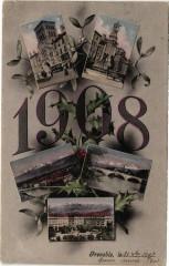 1908 - Grenoble 38 Grenoble