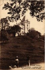 Thorens - La grande Tour du Chateau des Comtes de Sales - Sales