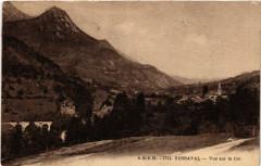 Serraval - Vue sur le Col - Serraval