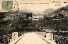 Serraval - Vue du Grand Pont - Serraval