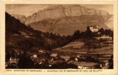 Menthon - St-Bernard - Chateau de St-Bernard et Col de Bluffy - Bluffy