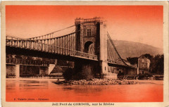 Joli Pont de Cordon sur le Rhone - Cordon