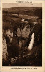Musieges - Cascade de Barbennez et Route de Malpas - Musièges