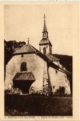 Bonne-sur-Menoge - Eglise St-Nicolas (Xi siecle) - Bonne