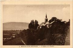 Bonne-sur-Menoge - L'Eglise et le Saleve - Bonne