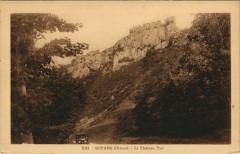 Soyans Le Chateau Fort France - Soyans