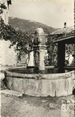 La Motte Chalancon La fontaine du Cimetiere France - Chalancon