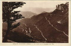 Col du Rousset Les lacets de la descente s Die France - Die