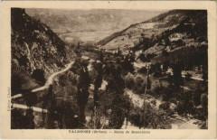 Valdrome Route de Beaurieres France - Valdrôme
