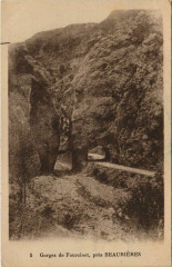 Gorges de Fourcinet, pres Beaurieres France - Beaurières
