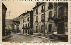 Tain l'Hermitage Virage de la route de Lyon France - Tain-l'Hermitage