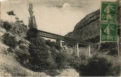 Viaduc du Claps, pres Beaurieres France - Beaurières