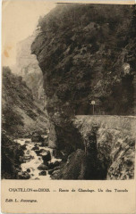 Chatillon en Diois Route de Glandage France - Glandage