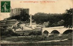 Suze la Rousse - Vue al'Est - Pont sur le Lez - Suze-la-Rousse