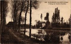 Saint-Rambert d'Albon - L'Etang du Moulin d'Ancone - Saint-Rambert-d'Albon