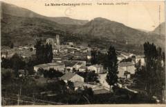 La Motte Chalancon - Vue générale cote Ouest - Chalancon