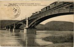 Saint-Rambert-d'Albon - Pont du Chemin de Fer sur le Rhone - Saint-Rambert-d'Albon
