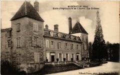 Miserieux Ecole d'Agriculture de Cibeins Le Chatea - Misérieux