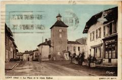 Lent La Place et le vieux Beffroi - Lent