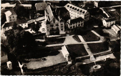 Chanay Vue aérienne sur le Chateau - Chanay