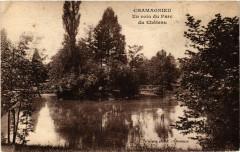 Chamagnieu Un coin du Parc du Chateau - Magnieu