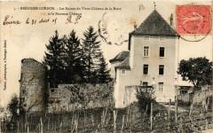 Brégnier-Cordon Les Ruines du Vieux Chateau de la Barre - Brégnier-Cordon
