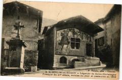 Saint-Sorlin-en-Bugey Légende de Saint-Christophe Fresque du Xv s - Saint-Sorlin-en-Bugey