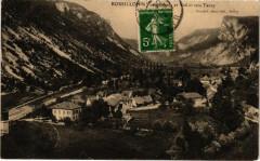 Rossillon Vue générale et Vallée vers Tenay - Rossillon