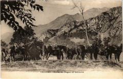 Militaire - Valloire - Arrivée des Dragons en manoeuvre - Valloire