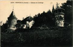 Ruffieux - Chateau de Collonge - Ruffieux