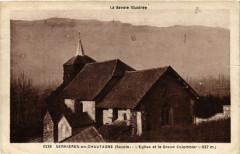 Serrieres-en-Chautagne - Le Eglise et le Grand Colombier - Serrières-en-Chautagne