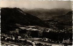 Saint-Jean-d'Arvey Alt 660 m - Vue sur Challes et la - Saint-Jean-d'Arvey