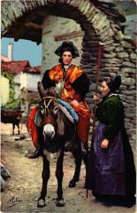 Savoie Pitt. Costumes de la Savoie - Vallée de Bessans - Bessans