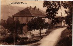 Plancherine - Mairie et Route de Tamie - Plancherine