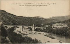 Le Bas Vivarais - Chambonas - Le vieux Pont et le Village du Pont - Chambonas