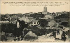 Villeneuve-de-Berg - Entrée de la Ville du coté - Villeneuve-de-Berg