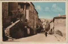 Joyeuse - Route Nationale - Escaliers et Portiques Anciens - Joyeuse
