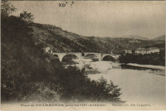 Pont de Chambonas prés Les Vans - Chambonas