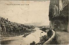 Route de Ruoms, prés Vals - Ruoms